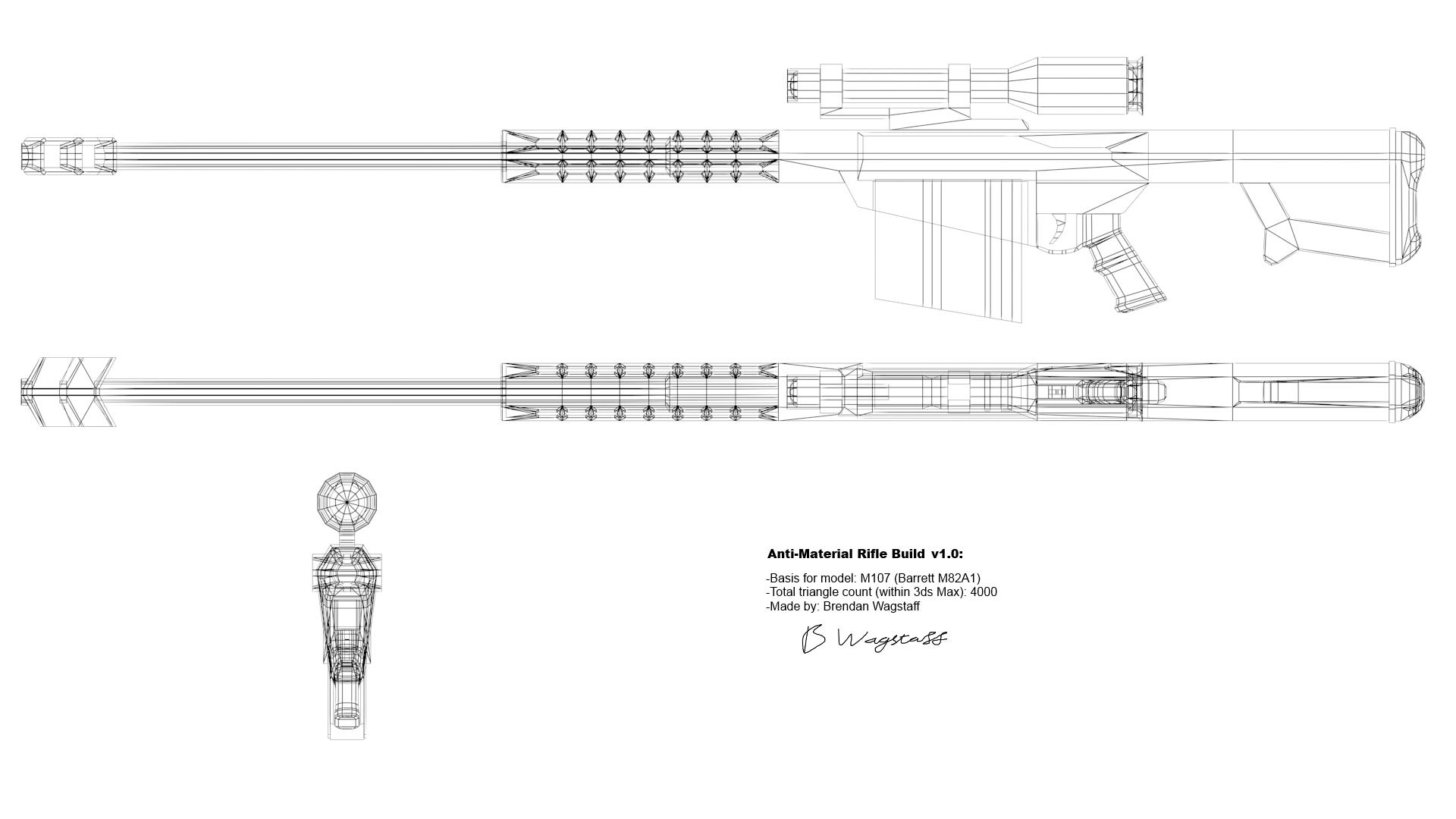 M107 Wireframe Blueprint By Mrgregger On Deviantart