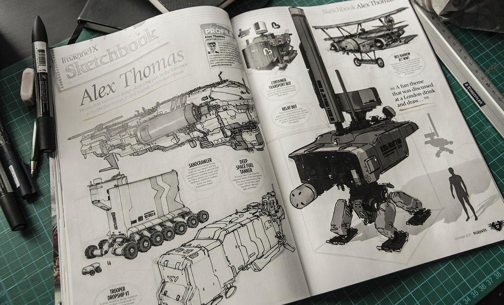 Ifx Sketchbook by No87