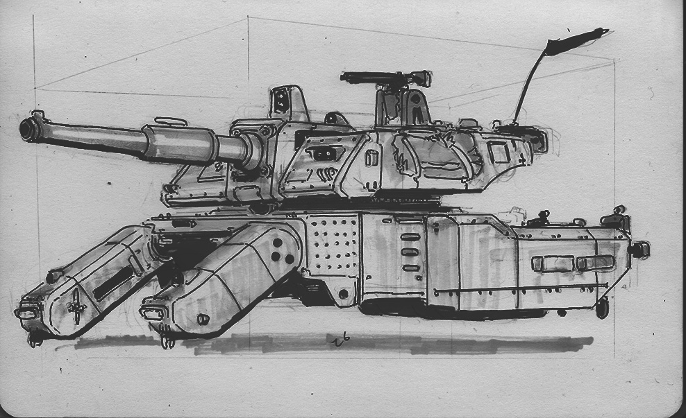 Drone Tank by No87