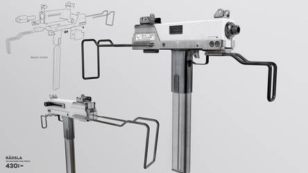 Disposable Machine Gun Pistol