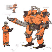 Sketchbook Heavy Lifter Bot