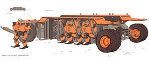 Sketchbook Heavy Lifter Bot Carrier Bot