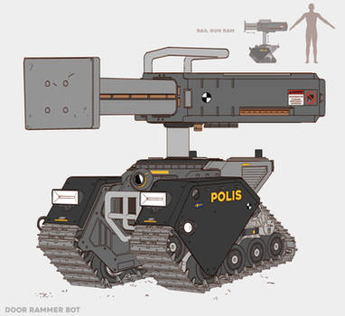 Door Rammer Police Bot