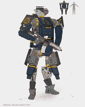 Special Police Heavy Police Bot