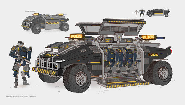 Special Police Heavy Bot Carrier