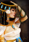 Cleopatra and the Serpent