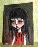 AnneMae ACEO mini painting