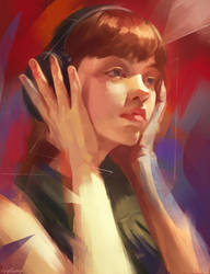 Portrait practice by Applime