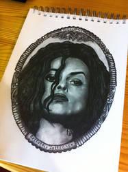 Bellatrix Lestrange by LiubovKorotkova