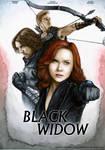 Black Widow Movie Poster (Fan made)