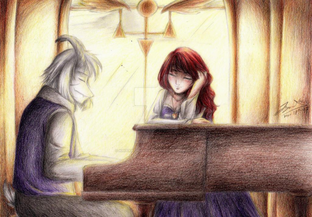 Golden Serenade by KhiaraTheLoneMoon