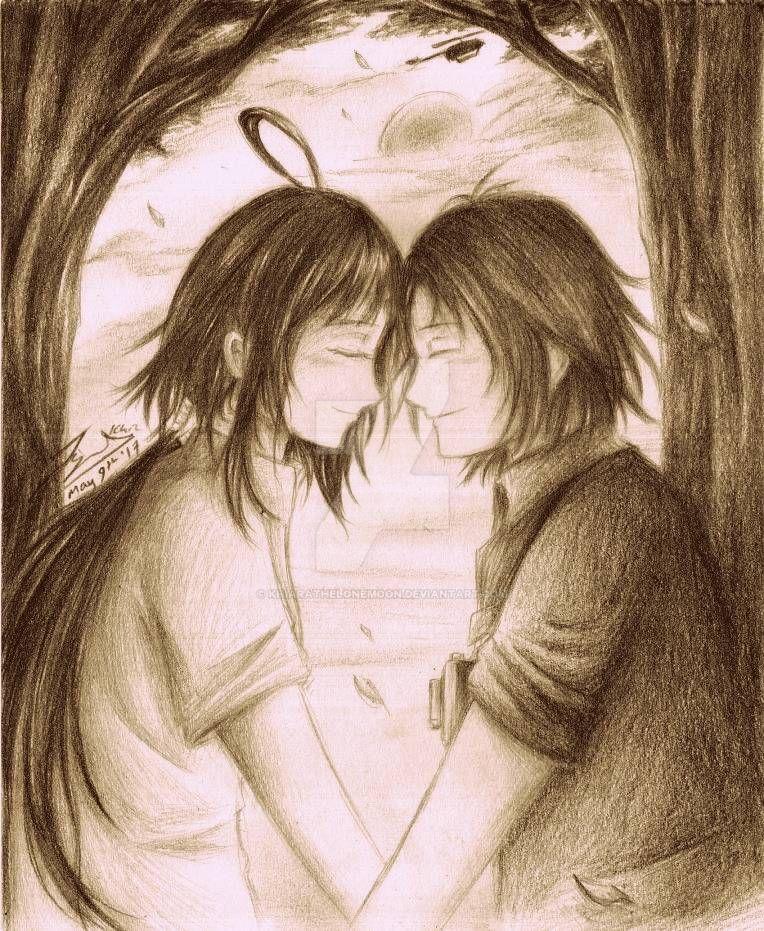Lovebirds Upon A Battlefield by KhiaraTheLoneMoon