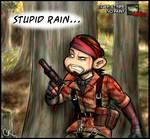 It's Raining Blood...on Snake