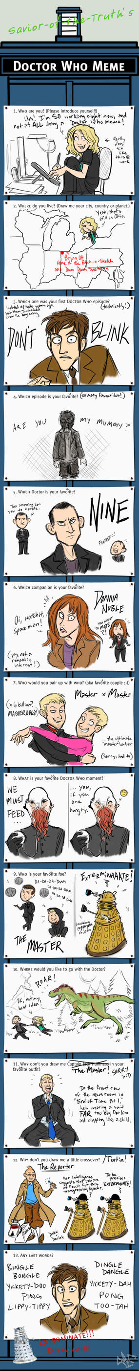 Doctor Who Memetime by Inonibird