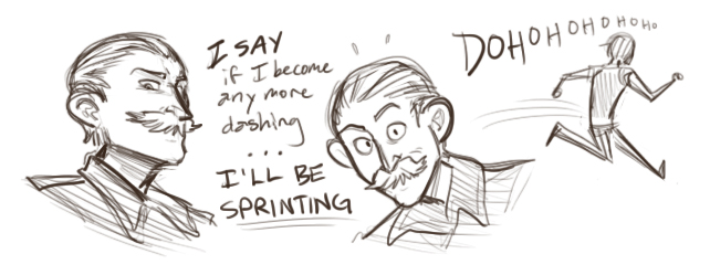 Charlie is Dashing by Inonibird