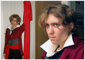 Enjolras Cosplay Test by Inonibird