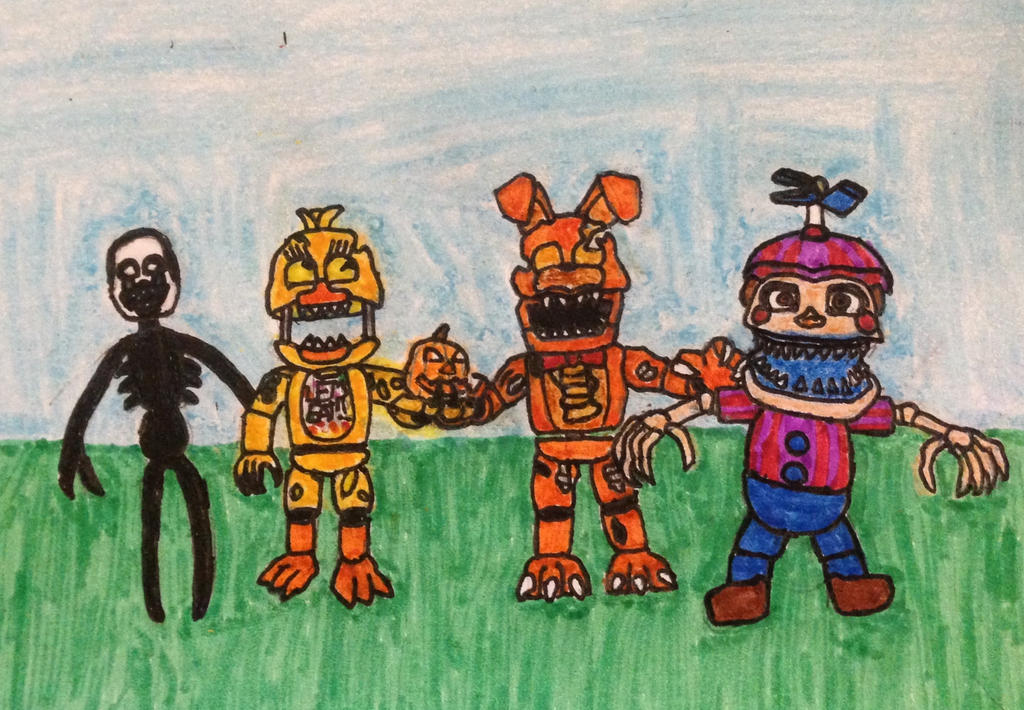 FNAF World Halloween Edition by Cooldud111 on DeviantArt