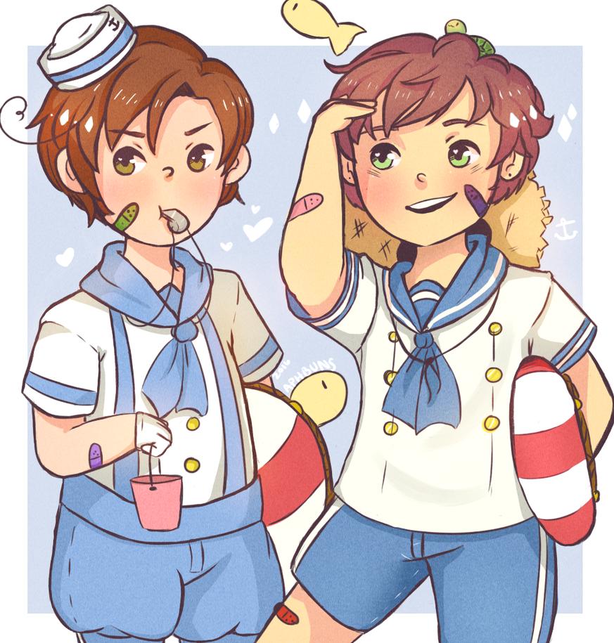 Sailor Spamano by Moonylight12