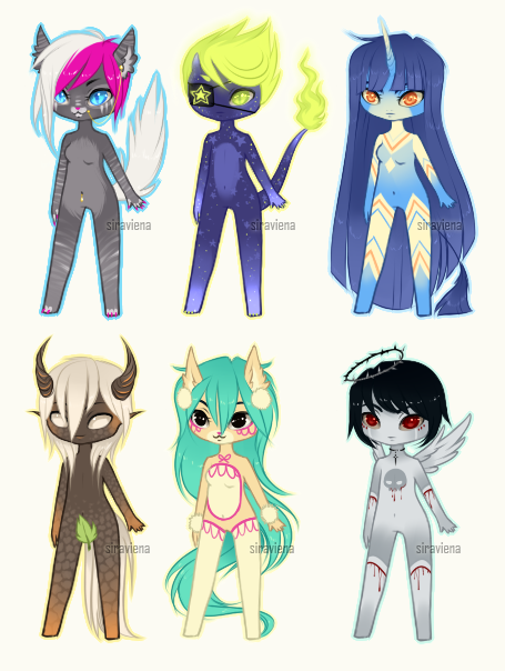 Micro Mixed [Adoptables] CLOSED by Siraviena
