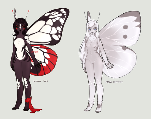 Butterflies *SET PRICE* Adoptables [CLOSED]