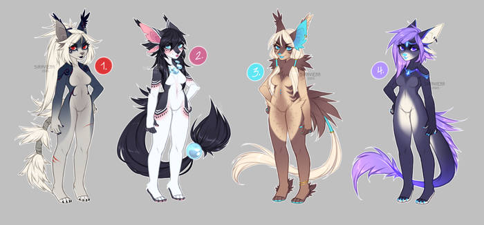 Adoptables tailsweepers - [CLOSED]