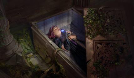 Sleeping beauty by gogo1409