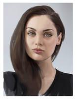 Portrait study by gogo1409