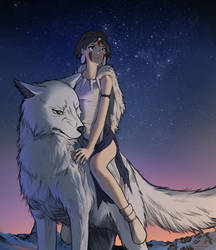 Princess Mononoke by Demiom