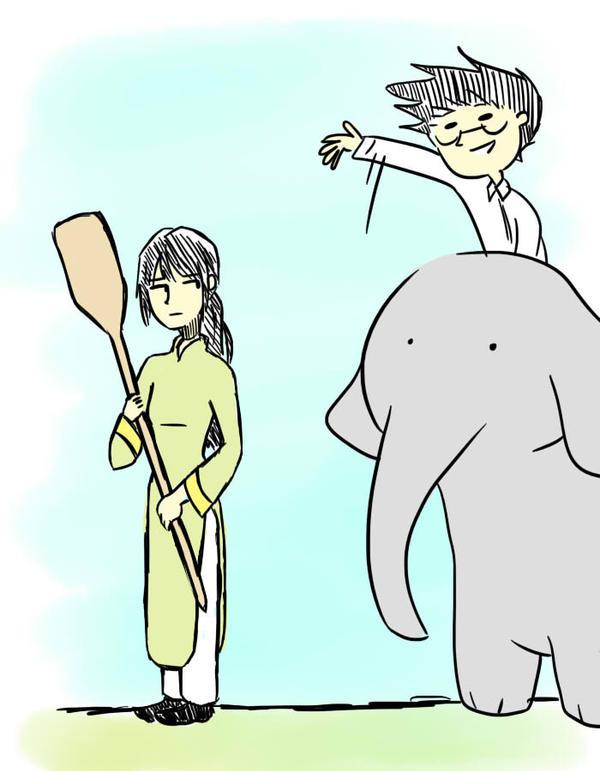 REQ: Vietnam and Thailand by punpatrol