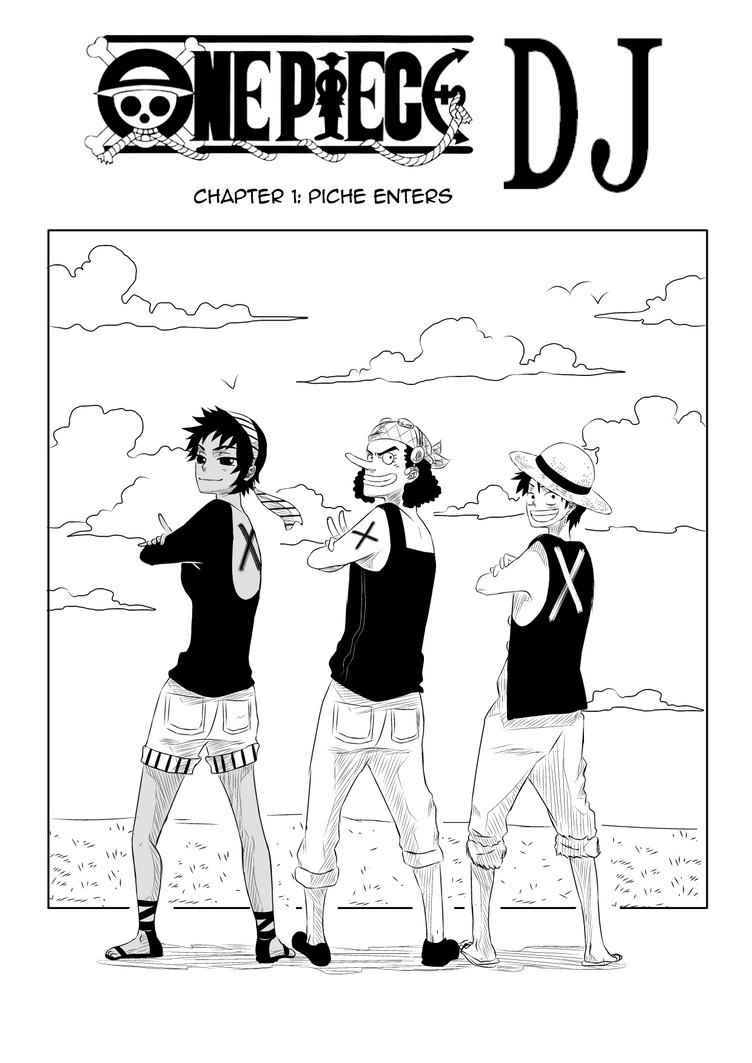One Piece DJ Chapter 1 by Pchoberry