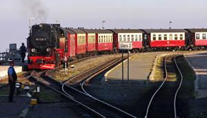 Brocken Steam Railway by UdoChristmann