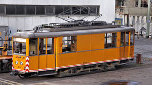 Tramway service wagon ( new edit ) by UdoChristmann