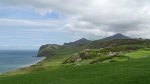 Trwyn y Gorlech - wide lens view