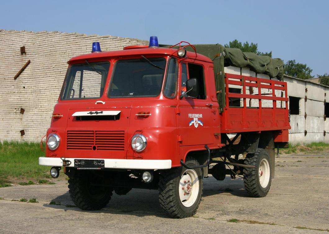 Robur firetruck by UdoChristmann