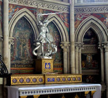 Cathedral of Bayeux - altar detail by UdoChristmann