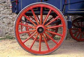 Wagon wheel by UdoChristmann