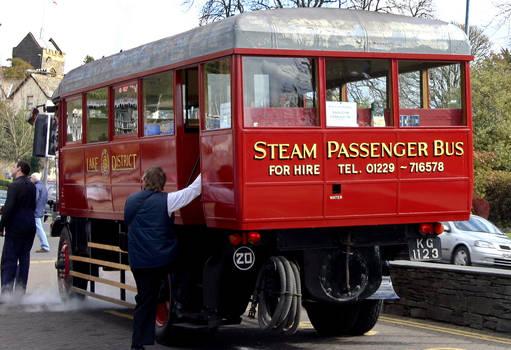 Steam driven bus ( 2 )