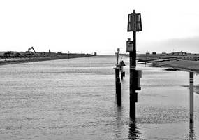 River Rother near Rhy Harbour by UdoChristmann