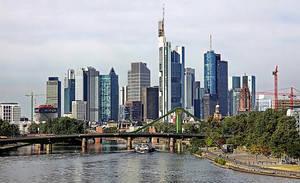 Frankfurt skyline by UdoChristmann