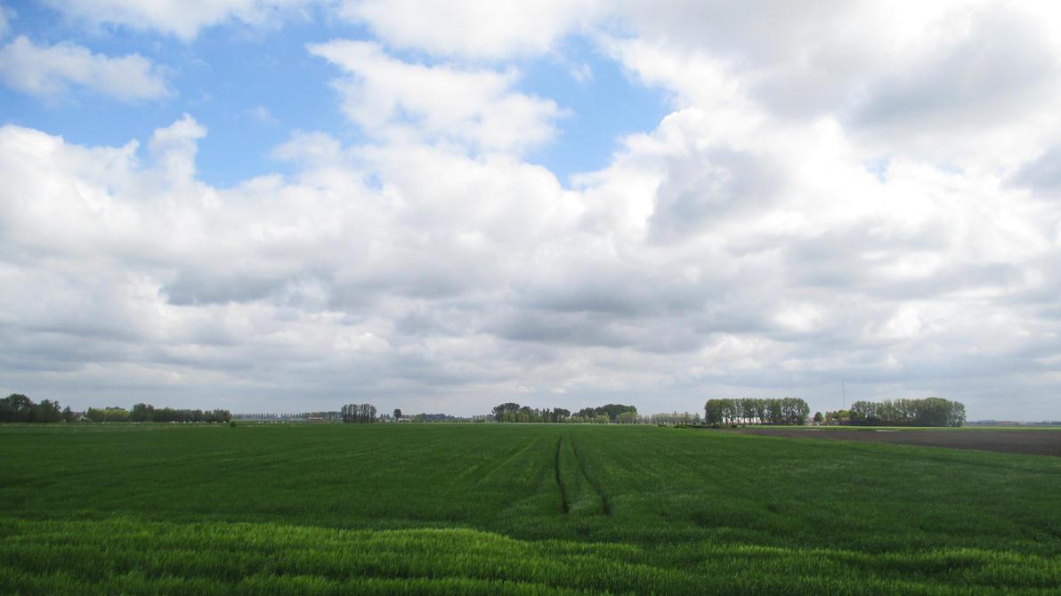 Rural landscape - Belgium by UdoChristmann