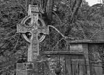 Celtic cross - Layde Church