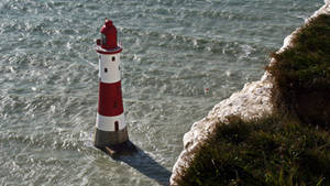 Lighthouse Beachy Head - Sussex - UK by UdoChristmann