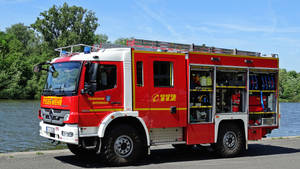 Mercedes firetruck by UdoChristmann