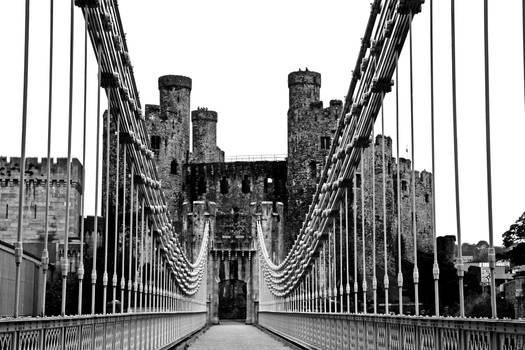 Bridge - Conwy Castle