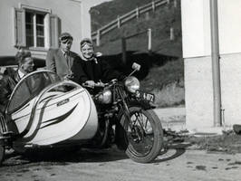 NSU with sidecar - Historic picture by UdoChristmann