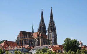 Cathedral of Regensburg by UdoChristmann