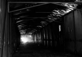 Dark passage by UdoChristmann