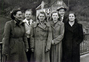 Postwar winter fashion -- Historic Picture -- by UdoChristmann