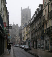 Rainy day in Dieppe by UdoChristmann