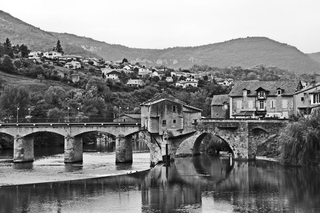 Old bridge - Milau - France by UdoChristmann